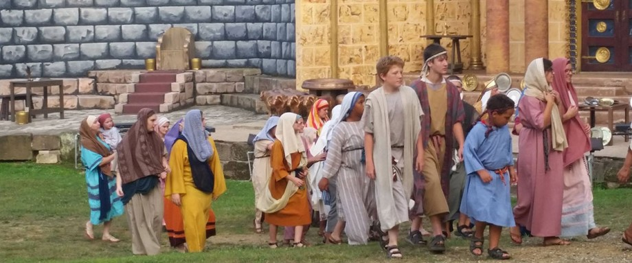Living word outdoor drama ohios only passion play for Outdoor drama